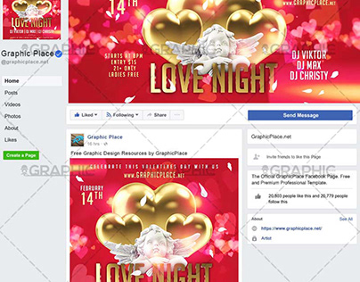 Love Night - Animated Flyer PSD Template
