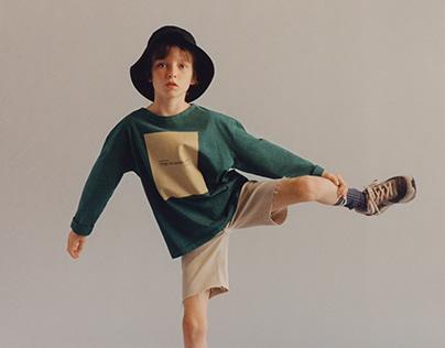 Print design for Zara Kids winter 2020