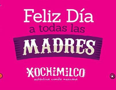 Xochimilco - Contenido y piezas para Día de la Madre