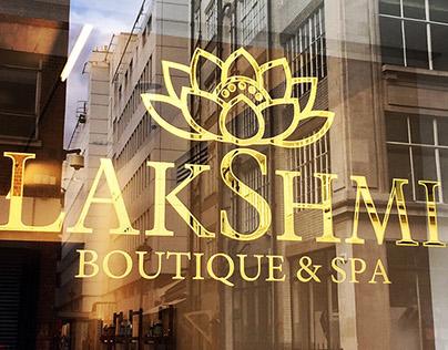 Reverse glass gilding Lakshmi London