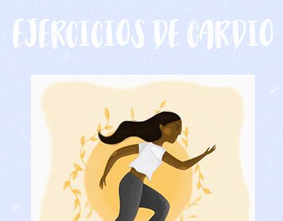 Ilustración - Ejercicios de cardio