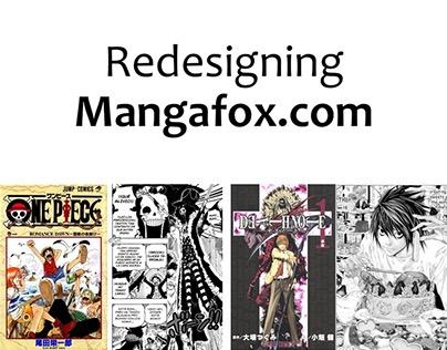 Redesigning Mangafox.com