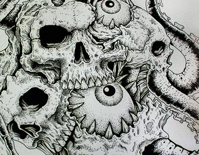 Lovecraftian Drawings