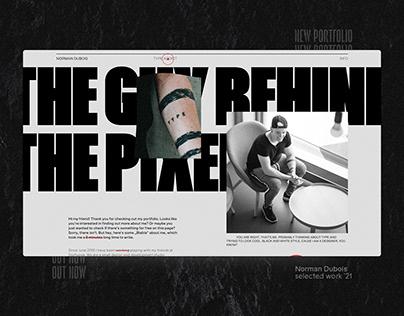 Norman Dubois – Identity & Design Portfolio