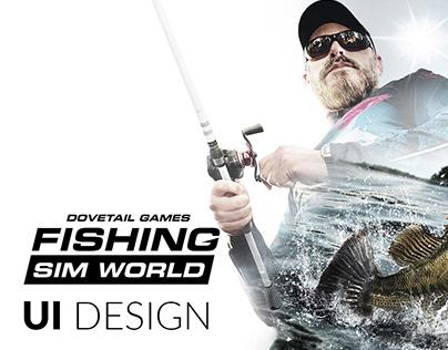 Fishing Sim World - UI Design
