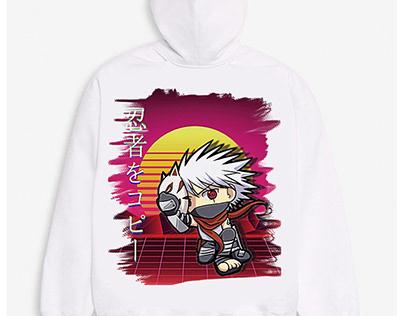 Kakashi The Copy Ninja Hoodie