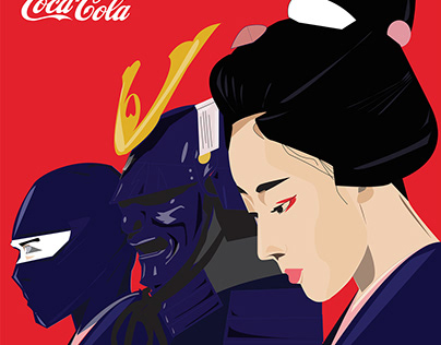 Nippon Bunka-teki Aikon + CokeXAdobeXYou