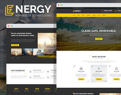 Energy - renewable energy and eco friendly technologies