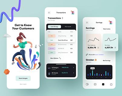 Analytics - Mobile App