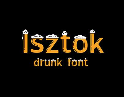Isztok font redesign