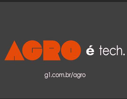 """Recriação da Vinheta """"AGRO"""" da Rede Globo para estudo."""