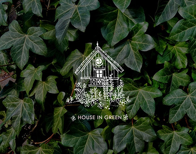 SKETCH House in green