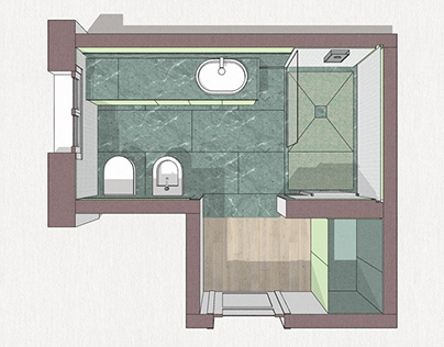 Concept bathroom