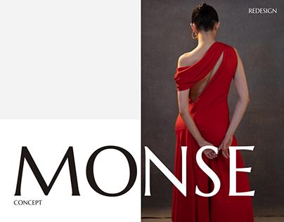 MONSE e-commerce website