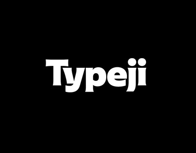 Typeji Logotype and Visual System