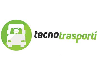 Logo per la testata giornalistica Tecnotrasporti