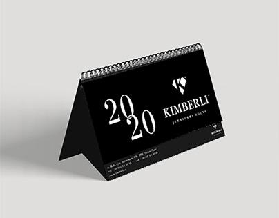 """Настольный календарь для Ювелирного Дома """"Кимберли"""""""