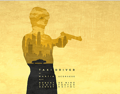 Taxi Driver Movie Graphic