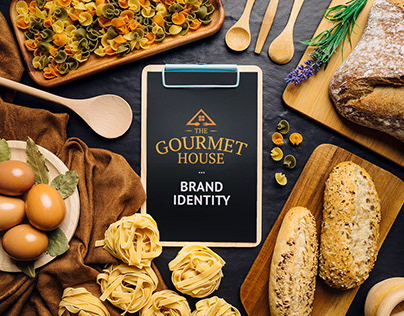 The Gourmet House - Brand Identity, Website, and App