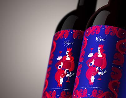Wine label - Bogyólé 2