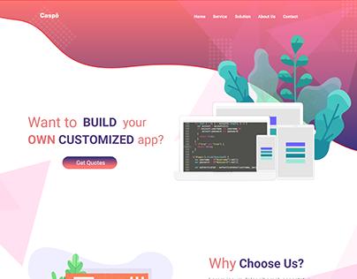 Caspo Software Company Website