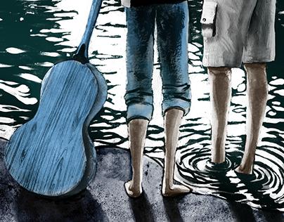 Theatre Illustration: Fractured Moonlight