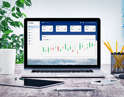Forex trading interactive dashboard