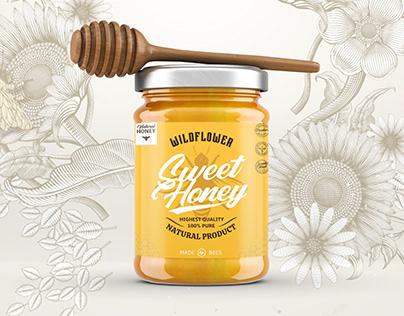 Label / Sweet Honey