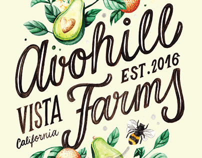 Avohill Farms Logotype