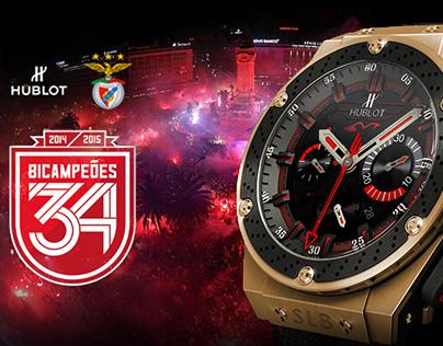 Hublot   SL Benfica 34º Campeonato