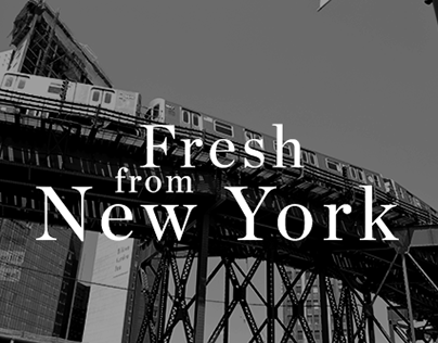 Fresh from New-York