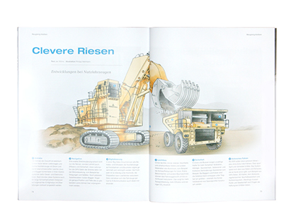 Voestalpine AG / Future Magazine Illustrations