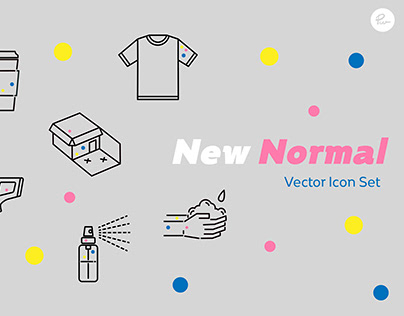 New Normal Vector Icon Set