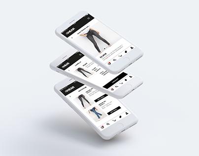 B/wear // Italian Fashion Apparel - App And Website