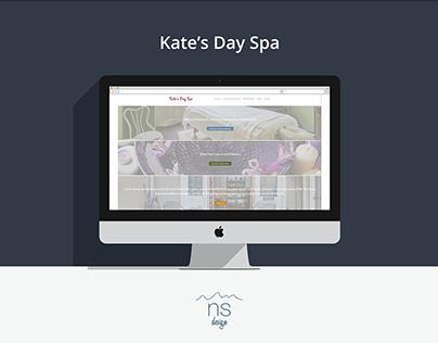 Kate's Day Spa | Website Re-Design
