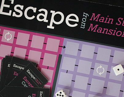 Escape from Main Street Mansion Board Game