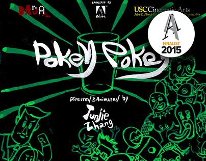 Graphic design for animation Pokey Pokey