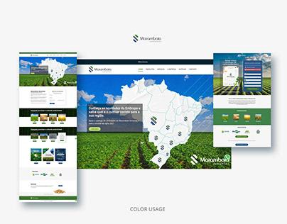 UX and UI Design for Agrobusiness website