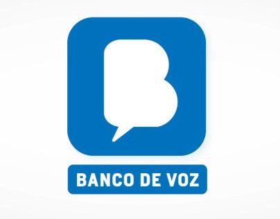 Voice Bank / Banco de Voz