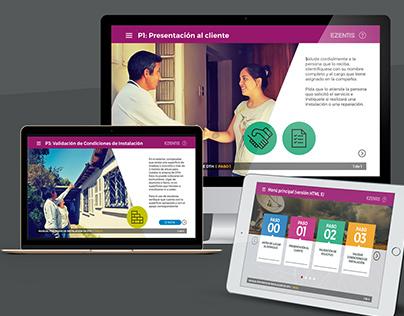 Hexa - Diseño interactivo - Ezentis DTH