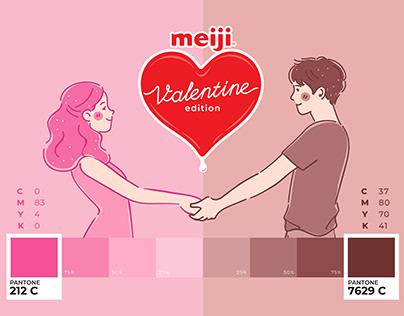 Meiji Valentine Packaging