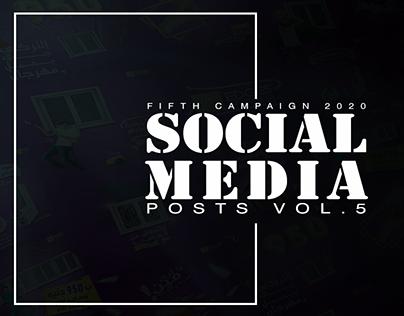 Social Media Posts vol.5