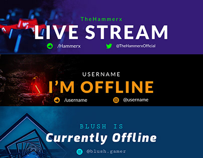 Gaming Banner Maker for Twitch