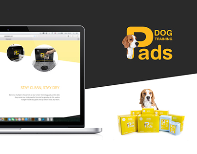 Dog Training Pads | Packaging | Product detail page