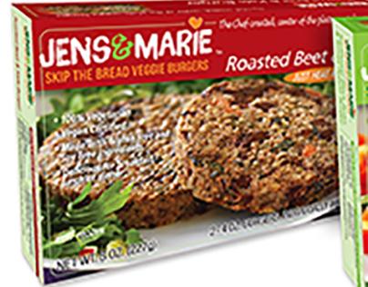 Jens&Marie Veggie Burgers
