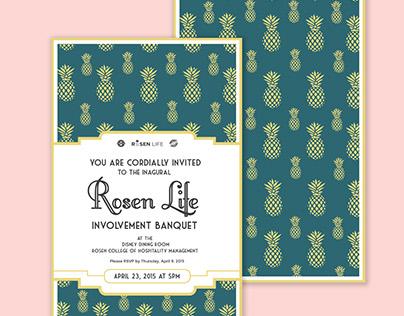 Rosen Life Involvement Banquet