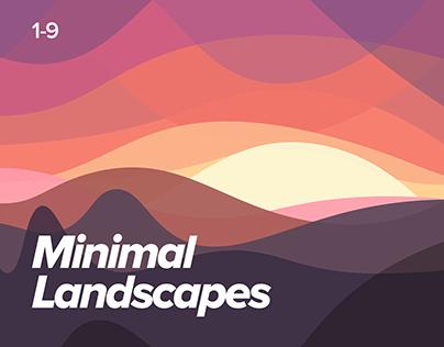Minimal Landscapes Series