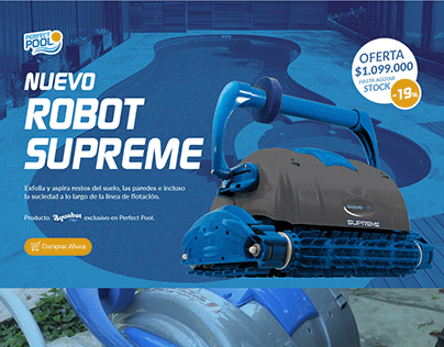 Robot Supreme Landing / Perfect Pool