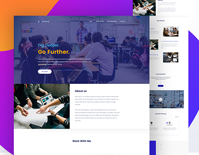 Education Web Theme