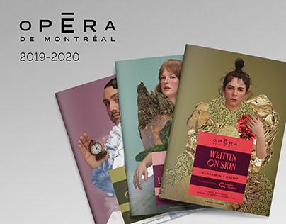 Opéra de Montréal   2019-2020 Season